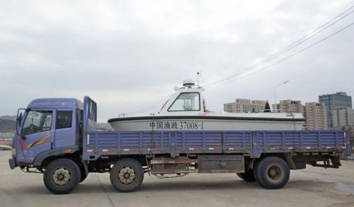 6.5米执法快艇交付