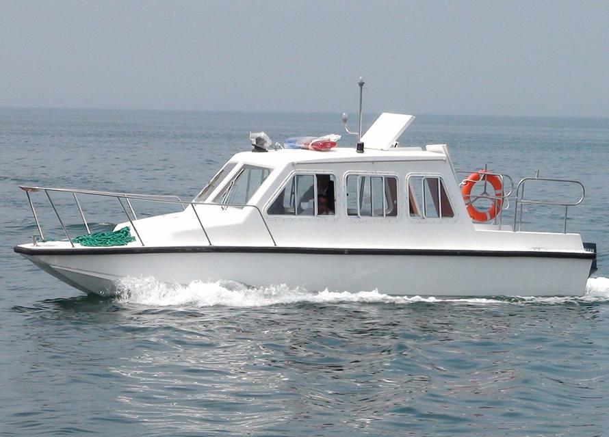 26英尺双体工作艇