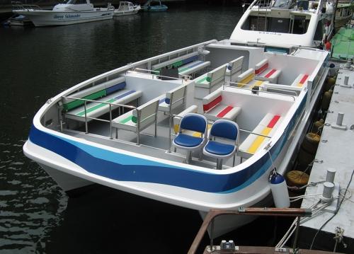 45英尺双体观光艇