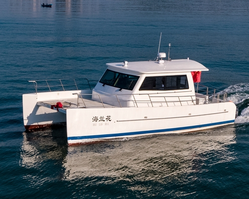 39英尺双体休闲游艇