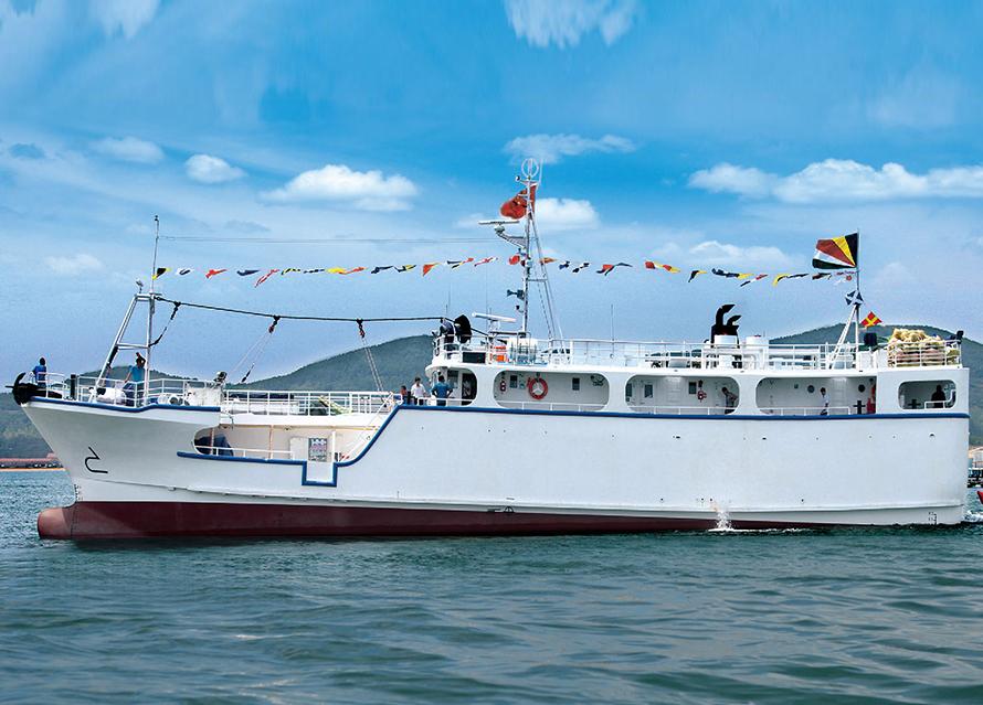 36.60m longline tuna boat
