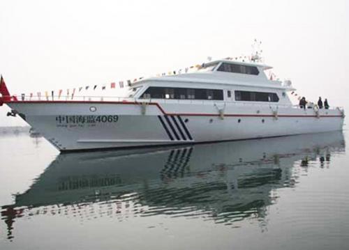 105ft CMS patrol boat