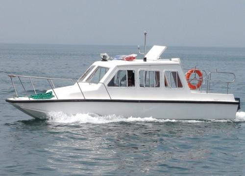 26ft working catamaran boat