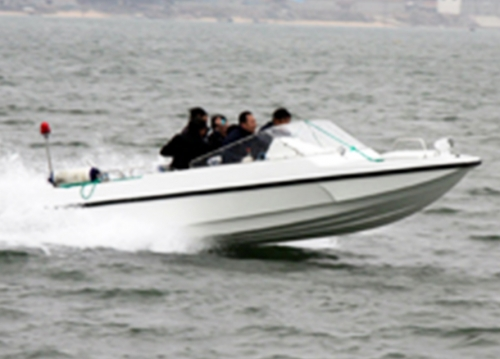 5.9m water jet working boat