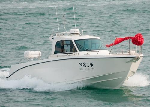 36ft sport fishing boat